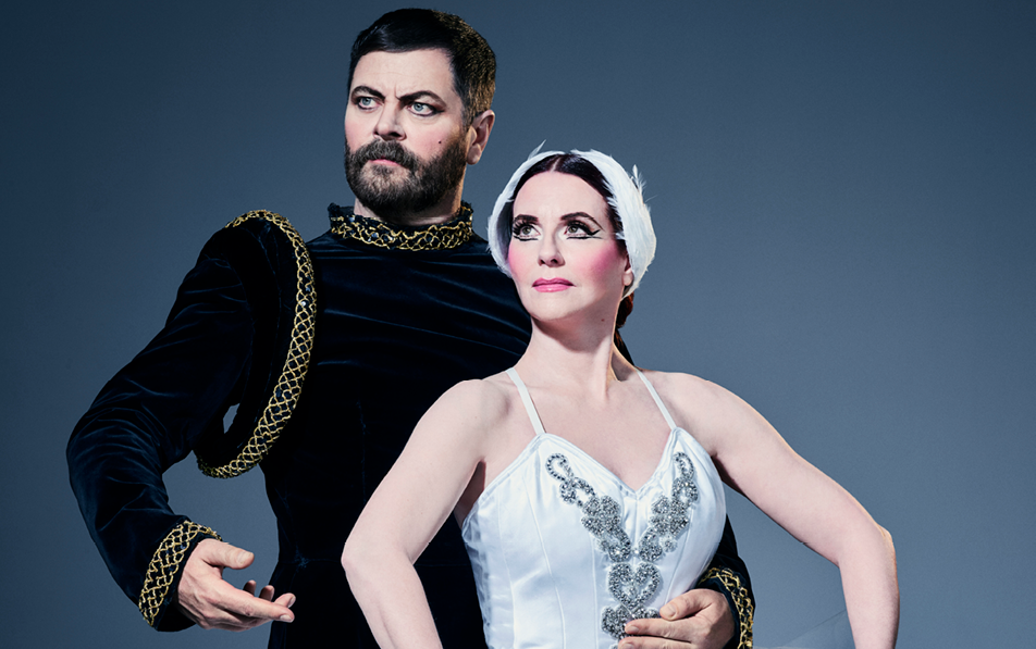 megan mullally and nick offerman the greatest love story ever told