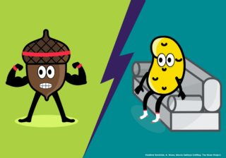 Image for Uptown Showdown: Health Nuts vs Couch Potatoes