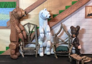 Image for Just Kidding: Stevens Puppets: Goldilocks and the Three Bears