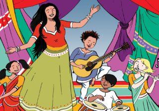 Image for Just Kidding: Falu's Bazaar