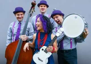 Image for Just Kidding: Lucy Kalantari and the Jazz Cats