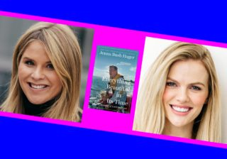 Jenna Bush Hager, Brooklyn Decker, and the cover of 'Everything Beautiful In Its Time'