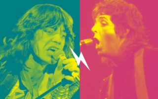 Image for Uptown Showdown: The Beatles vs. The Rolling Stones