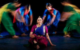 Image for Dancing the Gods: Rama Vaidyanathan & Dancers