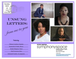 Image for Unsung Letters: From Me to You