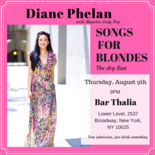 Image for Diane Phelan: Songs for Blondes