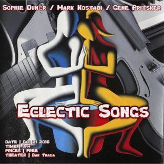 Image for Sophie Dunér / Mark Kostabi / Gene Pritsker 'Eclectic Songs'