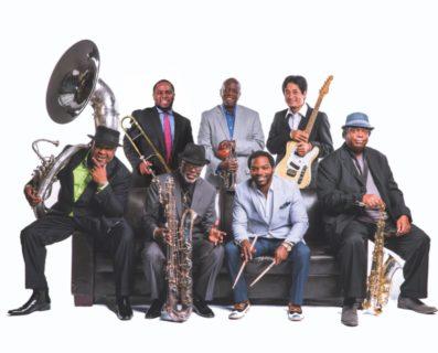Dirty Dozen Brass band, photo by Chris Monagahn