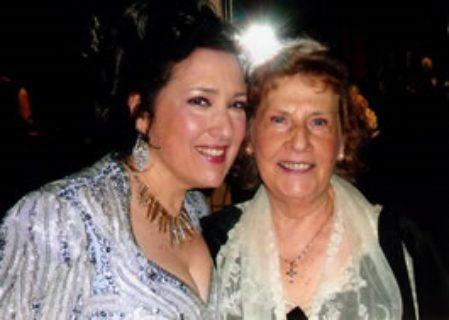 Cristina Fontanelli and Mom