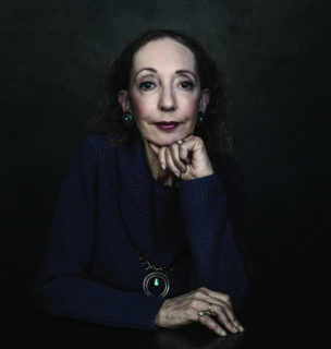 Joyce Carol Oates (photo cr Dustin Cohen)