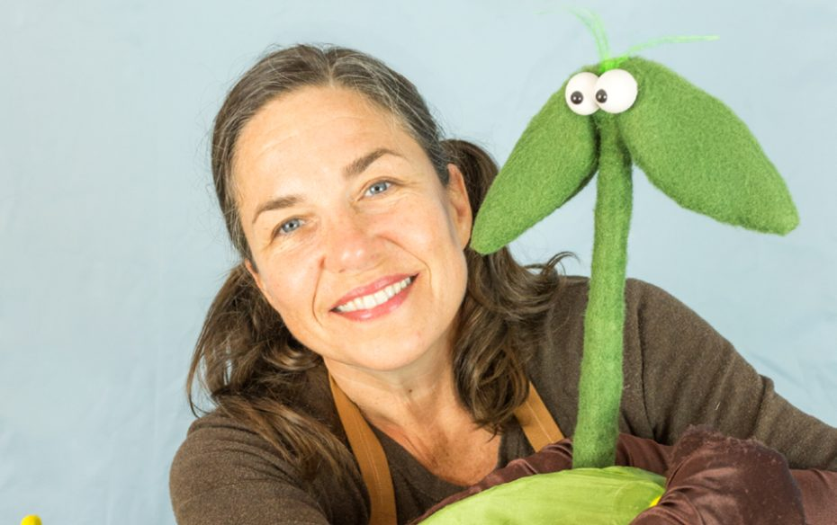 Just Kidding Liz Joyce And A Couple Of Puppets The Doubtful Sprout 219