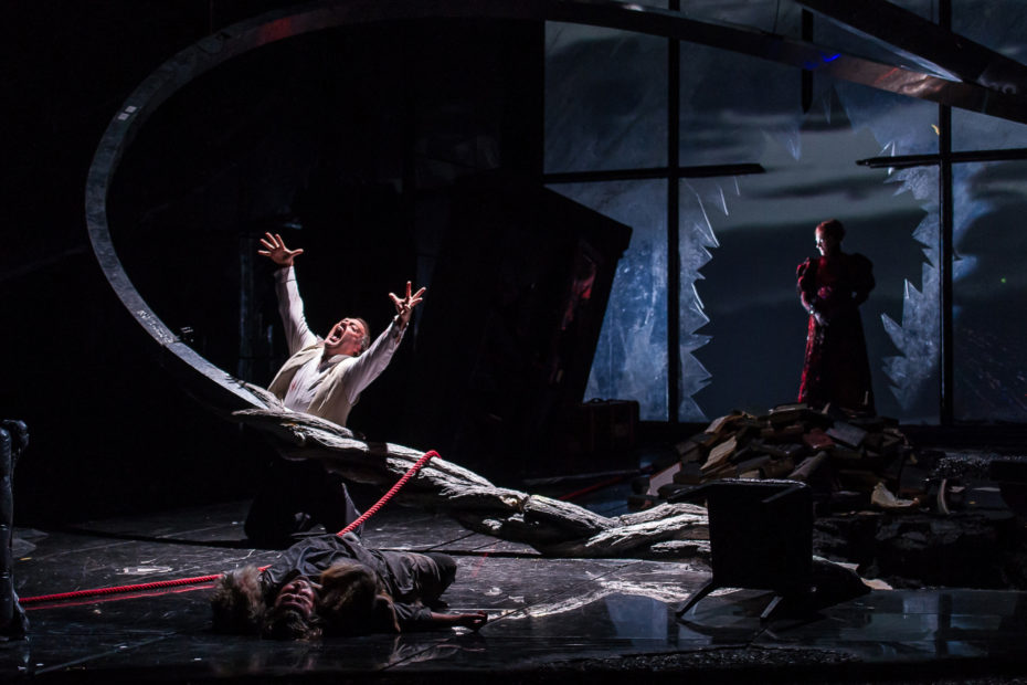 Die Walkure  Bryn Terfel As Wotan C Roh 2012  Photograph By Clive Barda