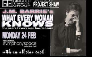 Image for Project Shaw - What Every Woman Knows