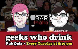 Image for Bar Quiz hosted by Geeks Who Drink