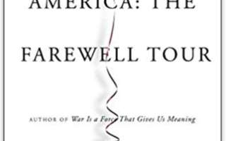 Image for Chris Hedges - America: The Farewell Tour