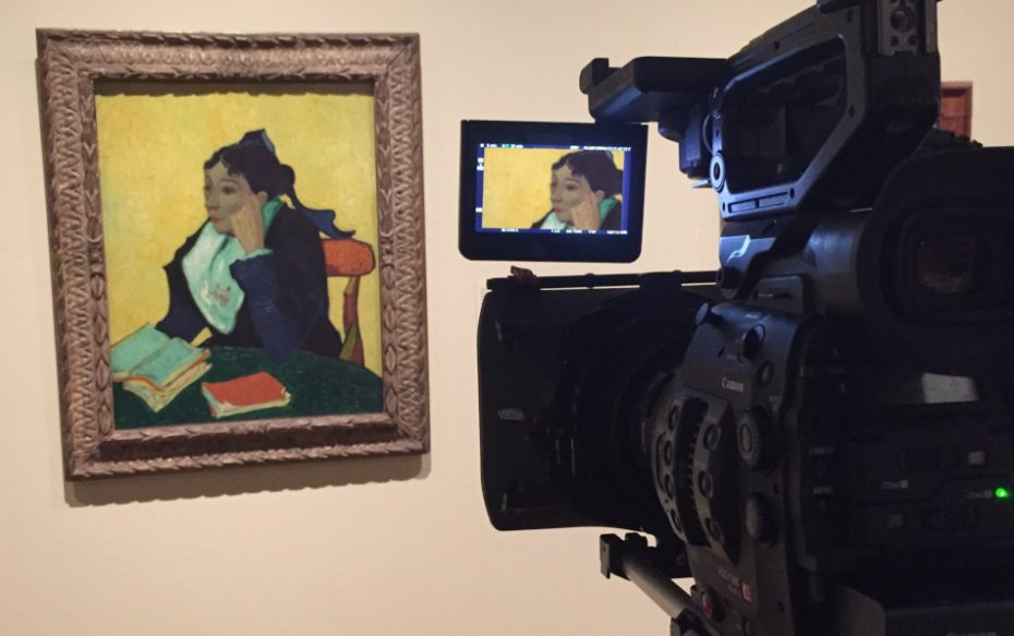 Filming Larlésienne Eos Van Gogh Japan © Exhibition On Screen