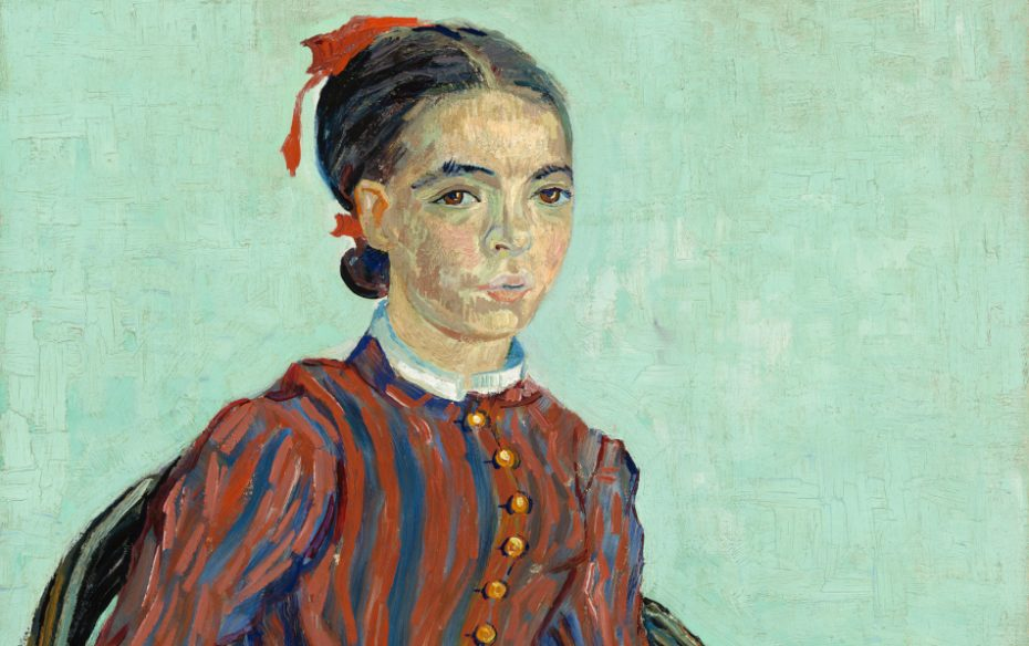 Vincent Van Gogh Mousmé 1888 National Gallery Of Art Washington