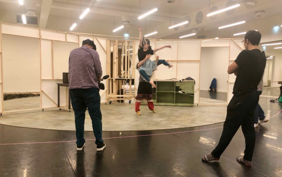Gerald Fox Filming Natalia Osipova In Rehearsal For Mother C Justine Waddell