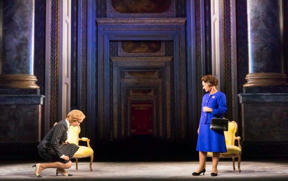 Margaret Thatcher Haydn Gwynne And Queen Elizabeth Ii Helen Mirren  Photo By Johan Persson  2