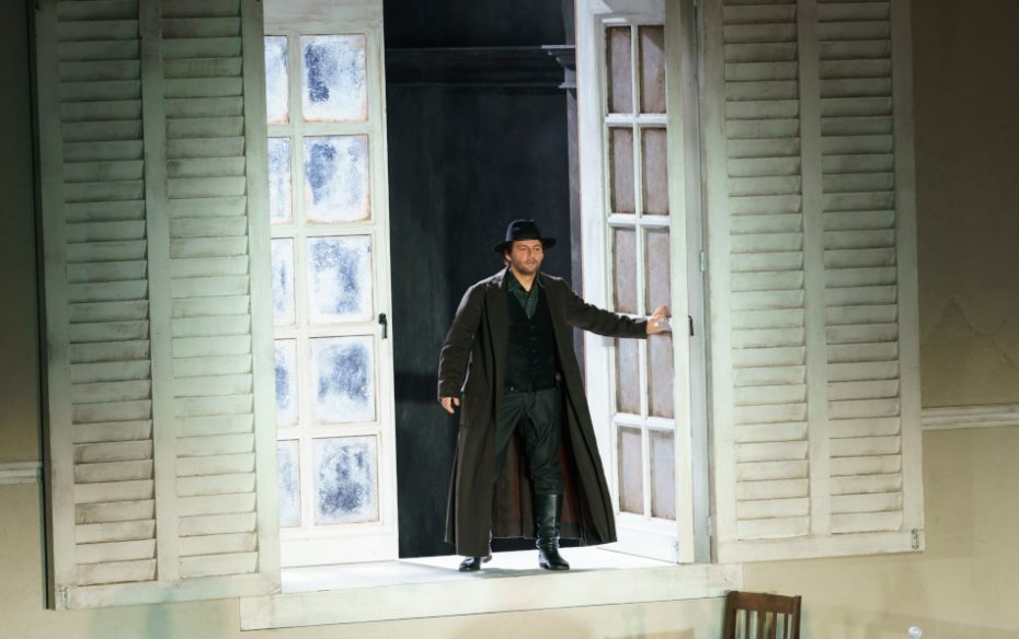 The Royal Opera House La Forza Del Destino Production Image Jonas Kaufmann As Don Alvaro C Roh 2019 Photograph By Bill Cooper