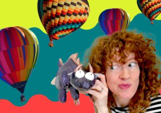 Image for Just Kidding - ScreenPLAY: Look Up: A Hot Air Balloon Adventure